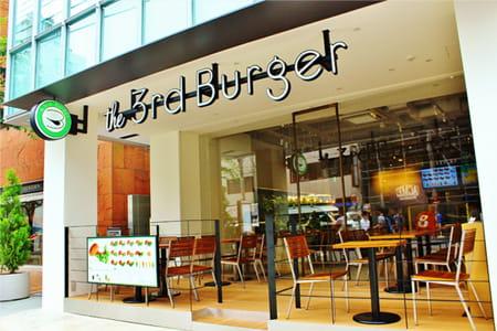 ユナイテッド&コレクティブが展開する「the 3rd Burger」の外観