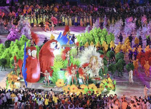 リオオリンピックの様子