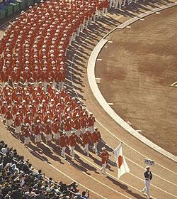 過去の東京オリンピックの様子