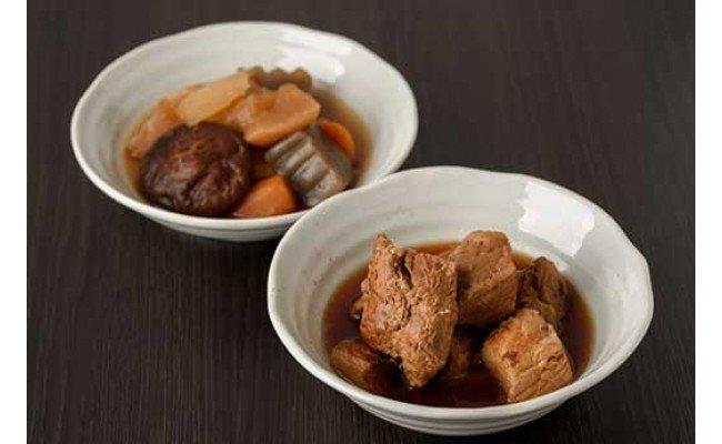 肉角煮・野菜煮セット